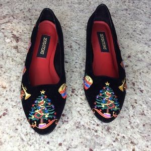 Sensations Christmas, Holiday Themed Shoes Size 7